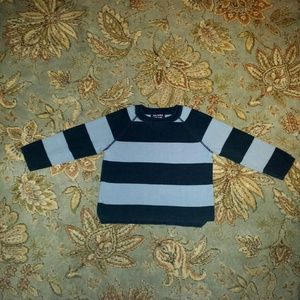 Class Club Other - Navy & light blue striped sweater