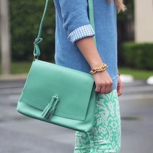 Mint Crossbody Handbag