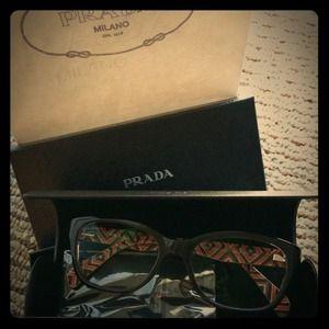 Authentic Prada non prescription eye glasses