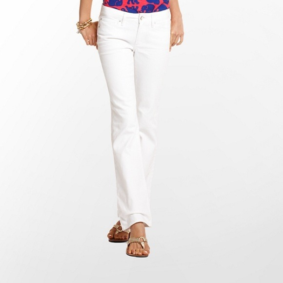 White Denim Bootcut Jeans | Jeans To
