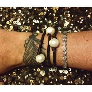 Sea Hippie Jewelry - SEA HIPPIE Pearl Wrap Bracelet