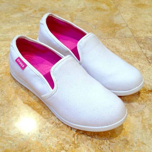 crocs - RESERVED-Crocs slip on tennis shoes. from Jennifer's ...