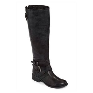 Betseyville(R) Blaise Back-Zipper Riding Boots
