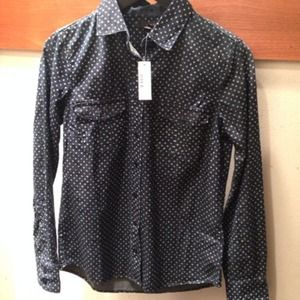 ⚡️J.crew Keeper Chambray Shirt in Star Dot