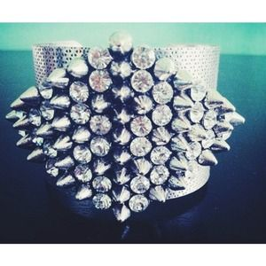 Statement Spike Bracelet