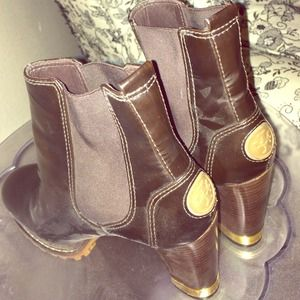 ❤️Hot TORY BURCH leather booties!❤️