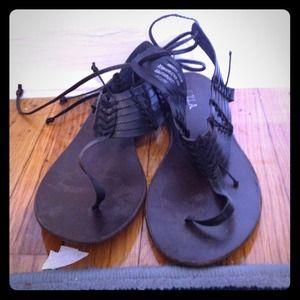 Shoes - Black summer sandal