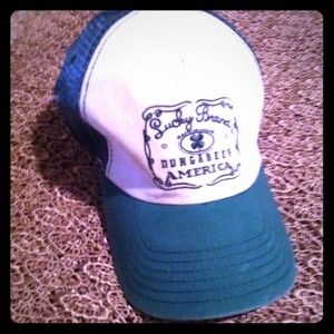 Lucky Brand: truckers hat, Today only $19