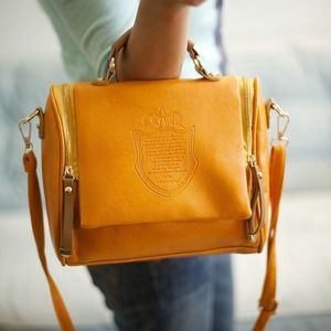 HP 2/6 - The DARLING bag - MUSTARD YELLOW