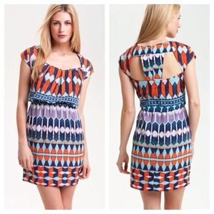 Jessica Simpson Geo Cutout Dress NWT