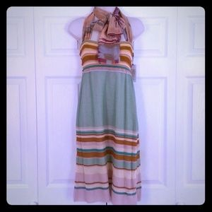 Missoni Dresses & Skirts - Missoni Knit Chiffon Tie Scarf Summer Dress