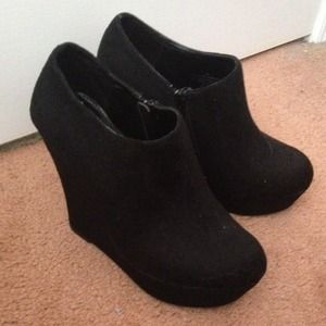 Sleek Black Booties