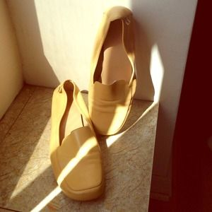 Anne Klein buttery leather loafers