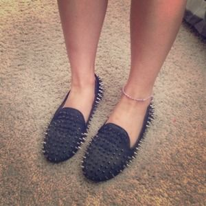 Spiked Loafers Unif Hellraiser