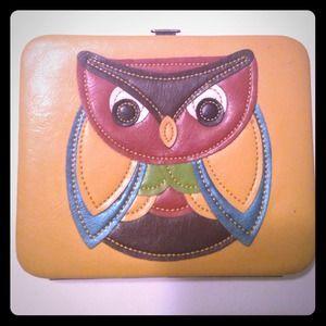 Owl wallet/clutch