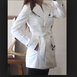 Zara White Trench Coat