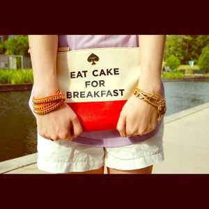 Kate Spade Eat Cake For Breakfast Gia Clutch