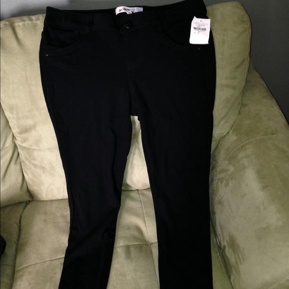 a6754f3a470ed jolt Pants | Black Jeggings | Poshmark