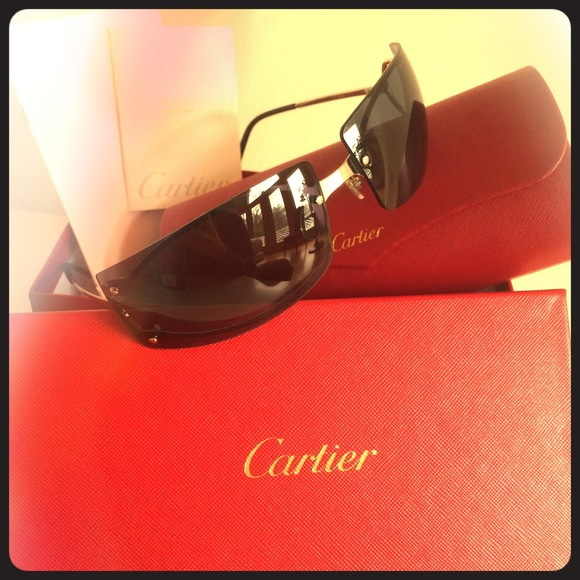 ce0cbcf4b81 Never Worn 100% authentic Cartier Pasha Sunglasses