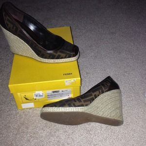 Fendi Wedges