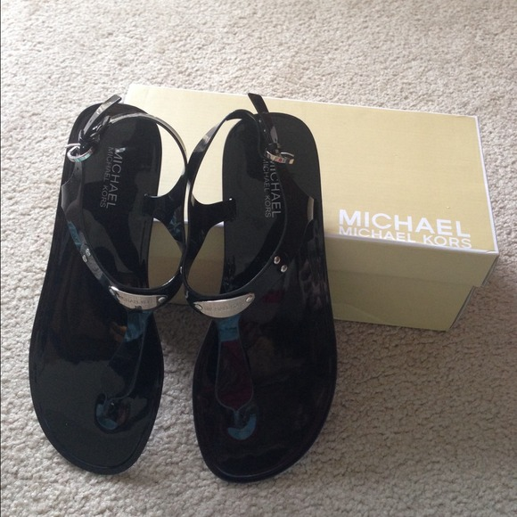 MICHAEL Michael Kors Plate Jelly Sandals