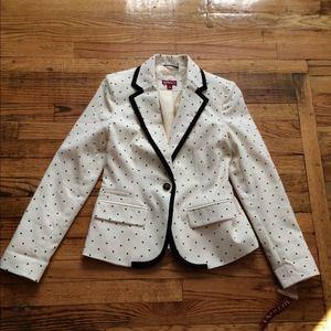 merona Jackets & Coats - 🎉HOST PICK NWT polka dot blazer blogger 4 2