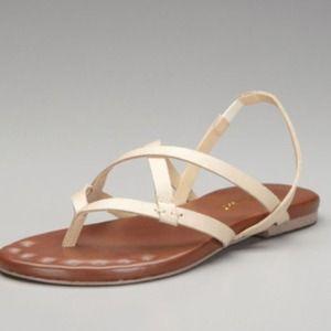 Matt Bernson Shoes - Matt Bernson nude strappy leather sandals