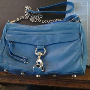 Authentic Rebecca Minkoff MAC blue