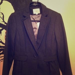 Charcoal blazer
