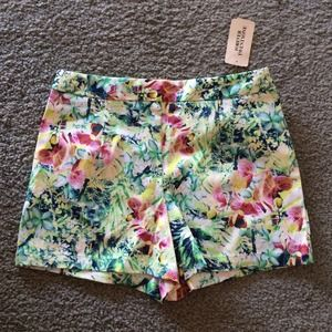 Tropical Floral High Waisted Shorts *NEW*