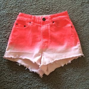 Urban Outfitters BDG Ombré High Waisted Shorts