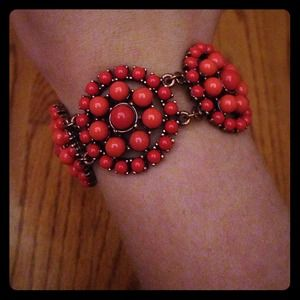 Coral Bracelet I bought at Saks.
