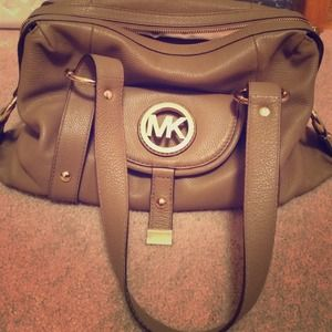 Michael Kors Taupe Bag