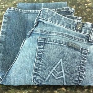 7 Seven for all Mankind A pocket Jeans 25