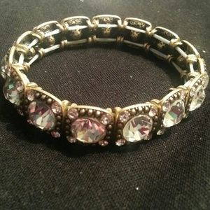 Sparkly crystal stretch bracelet