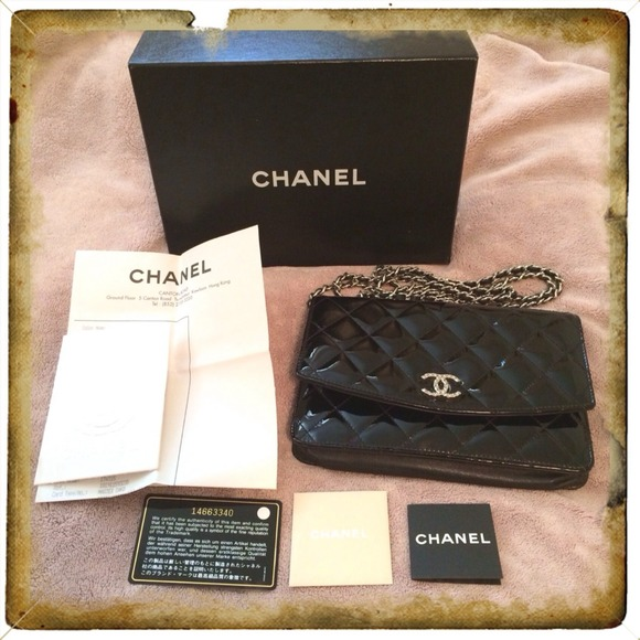c219ecba206a CHANEL Bags | Sold Classic Wallet On Chain Woc Black | Poshmark