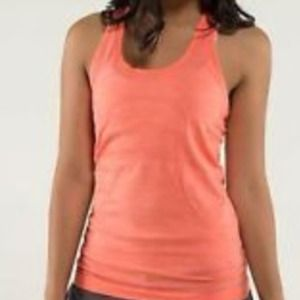 Coral Tech running tank - Lululemon