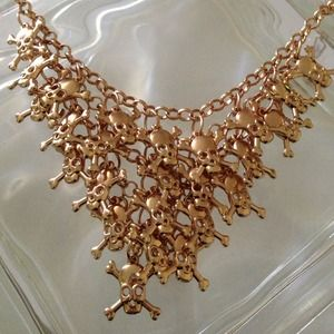 {BJ Sculls Statement Necklace}