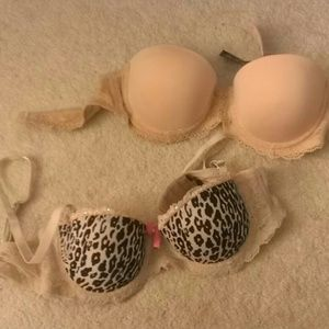 Other - Two 32A cup bras from wetseal!