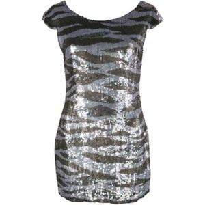 All saints sequins dress size 4