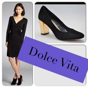 ❤️Host Pick Dolce Vita Black Suede Pumps