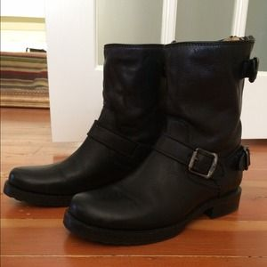 Veronica Low Boots in Black by Frye