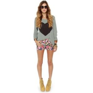 Billabong Sweaters - BILLABONG Heart Sweater
