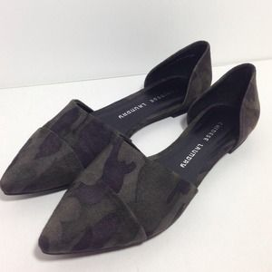 Chinese Laundry Shoes - Camo Print D'Orsay Flats