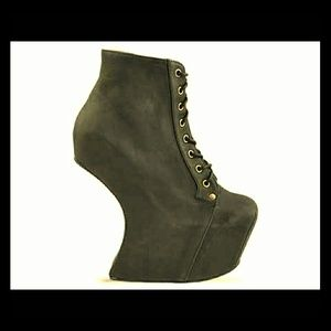 Jeffrey Campbell Black Night Lita