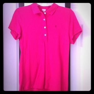 JCREW Hot Pink Top!
