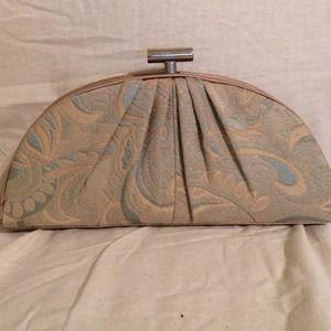 Vintage inspired clutch