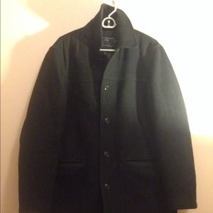 Men's J. Crew quilted Wool Coat