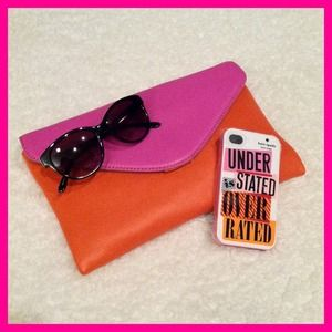 "kate spade Accessories - Kate Spade ""Understated is Overrated"" iPhone case"