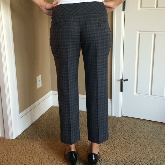 75% off Anthropologie Pants - Anthropologie plaid cropped pants ...